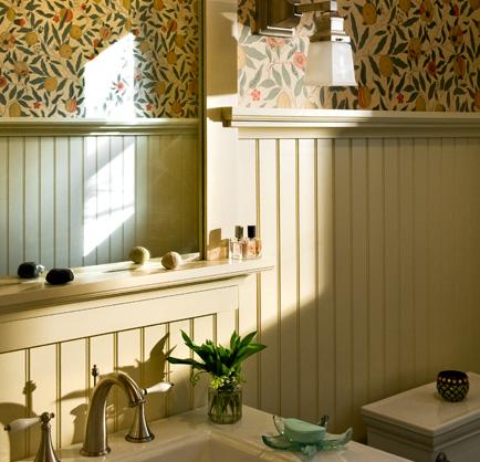 Beadboard gritte jepp wohndesign berlin - Beadboard small bathroom pictures ...